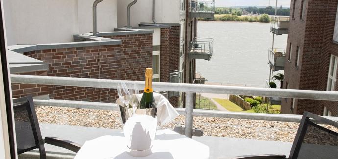 100% R(h)eine Liebeszeit im Hotel**** Rheinpark Rees für 2 Pers.