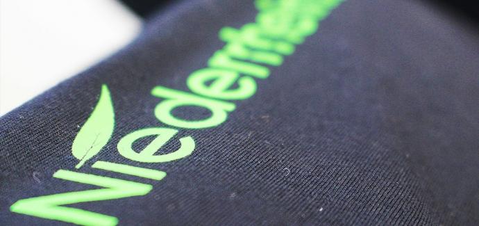 Ich liebe den Niederrhein T-Shirt mit V-Ausschnitt