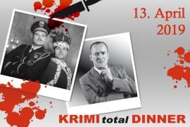 "KRIMI total DINNER ""Mord Royal"" | Kamper Hof Rheinberg (13.04.2019, 19 Uhr)"