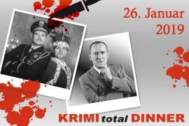 "KRIMI total DINNER ""Wer öfter stirbt, ist..."" | Kamper Hof Rheinberg (26.01.2019, 19 Uhr)"