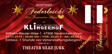 Gutschein für Zwei | Neukirchen-Vluyn (22.11.2019)