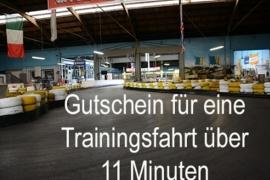 Trainingsfahrt für 1 Person auf der Kartbahn in Weeze