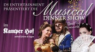 Ticket: Musical Dinnershow 2019 im Kamper Hof (24.01.2020)