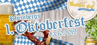 Ticket: Rheinbergs 1. Oktoberfest (03.10.2019)