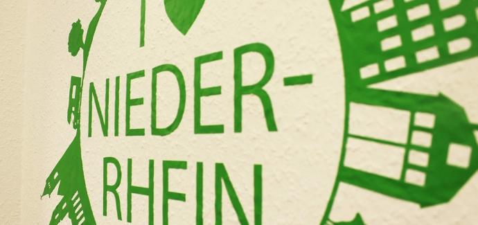 """Wandtattoo """"Ich liebe den Niederrhein"""""""