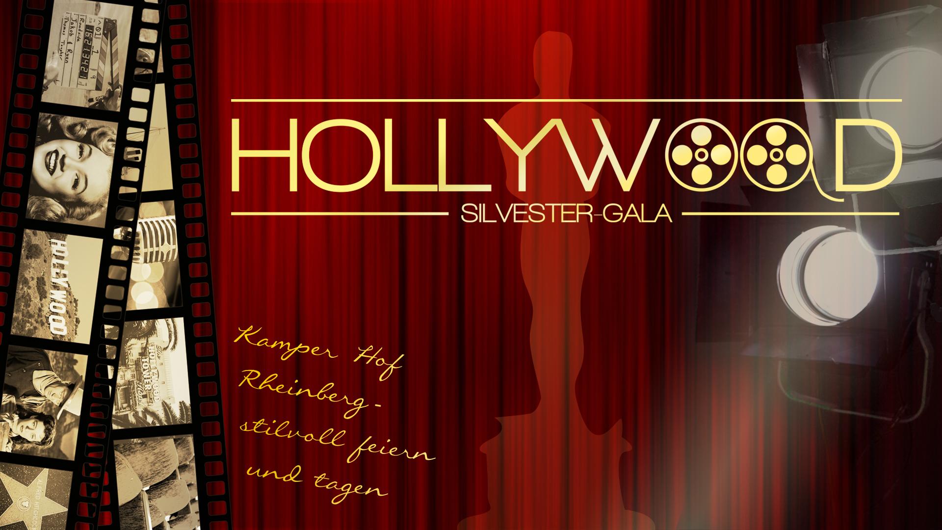 Silvester-Gala Hollywood - Kamper Hof Rheinberg