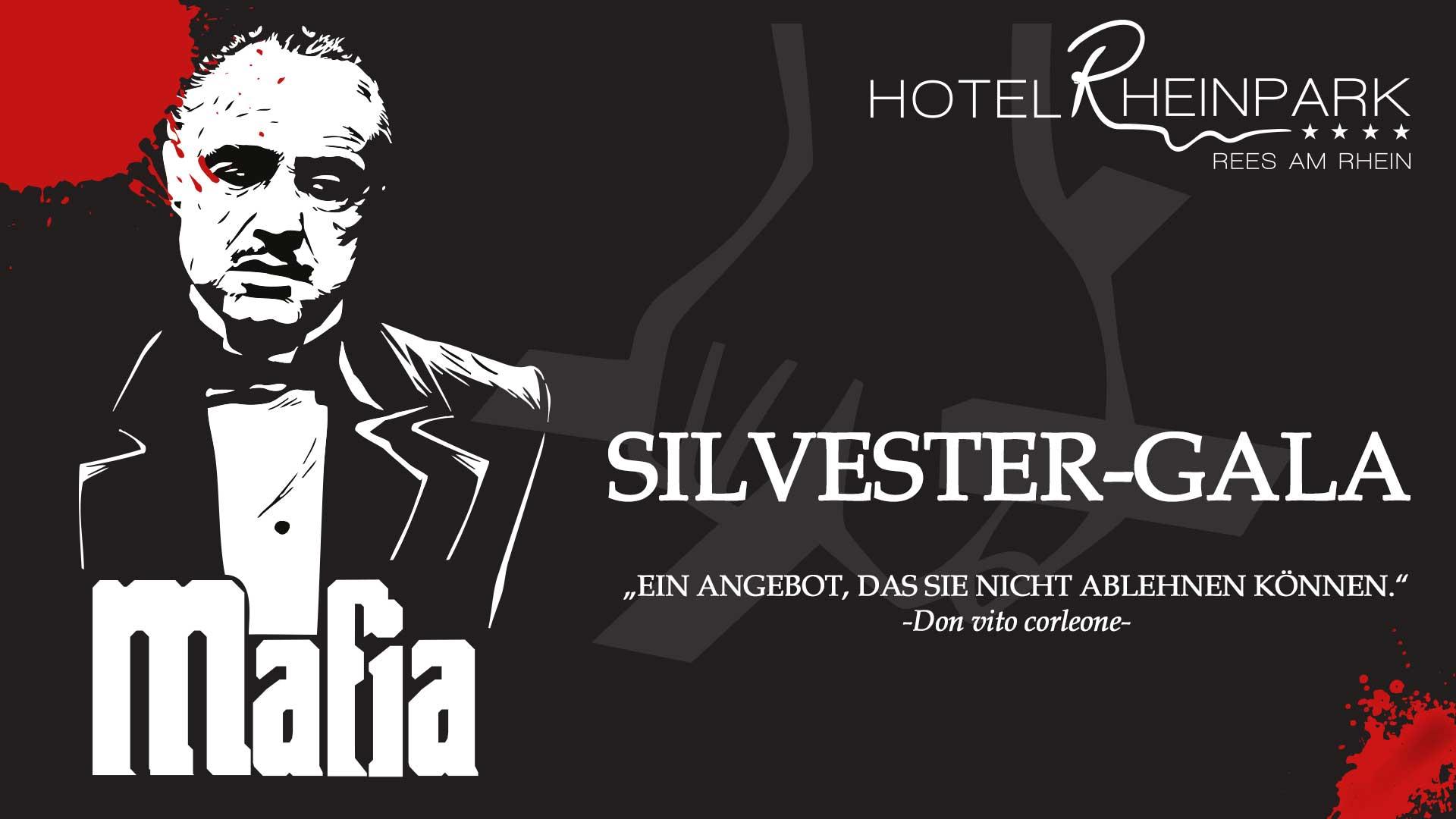 Silvester-Gala Mafia - Hotel Rheinpark Rees