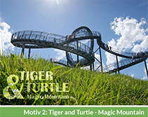 Motiv 2: Tiger and Turtle - Big Mountain